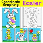 Easter Coordinate Graphing Mystery Pictures - Ordered pair