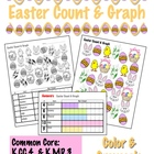 Easter Count & Graph  - Common Core Measurement & Data