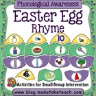 Easter Egg Matching- Rhyme