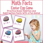 Easter Egg Math Fact Game