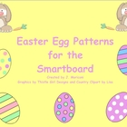 Easter Egg Patterns for the Smartboard