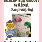 Easter Egg Scoot! {Without Regrouping} Freebie!