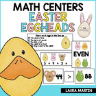 Easter Eggheads-Common Core Math Fun (1st and 2nd)