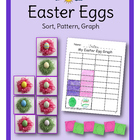 Easter Eggs Sort, Pattern, Graph
