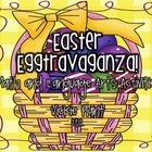 Easter &quot;Egg&quot;travaganza {Math and Language Arts Centers}