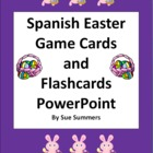 Easter Game Cards & Flashcards PowerPoint in Spanish