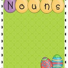 Easter Grammar Sort: Nouns, Verbs, and Adjectives