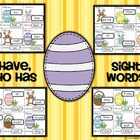 Easter I Have, Who Has Card Game - Sight Words (25 Dolch Words)
