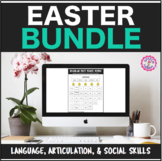 Speech Therapy Easter Interactive Language and Articulatio