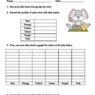 Easter Jelly Bean Math Activities for Partners