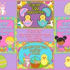Easter Kindergarten Bundle ~ Printables &amp; Game Cards Pre-K/K
