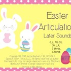 Easter: Later Developing Sounds Articulation Game