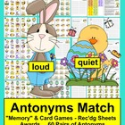 Easter Literacy Center Antonyms - 3 Ways to Play - 120 Wor