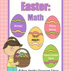 Easter - Math Centers and Math Lessons