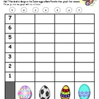 Easter Math Graphing Center Activities & Lessons
