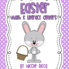 Easter Math &amp; Literacy Centers