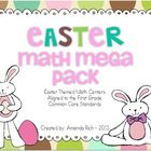 Easter Math Mega Pack (Easter Themed Math Centers for Firs