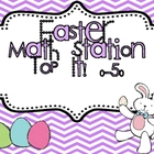 "Easter Math Station ""Top It! 0-50"""
