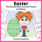 Easter Mathbooking - Math Journal Prompts and Games (3rd g