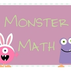 Easter Monster Math