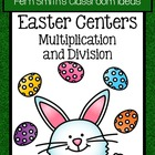 Easter Multiplication and Division Twenty-Five Center Game