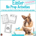 Easter No Prep Printables: Not Just for the Sub Tub!