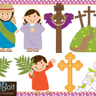 Easter, Religious Clip-Art
