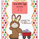 Easter Scrambled Egg Word Families -et, -en, -est, -eep