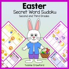 Easter Secret Word Sudoku (2nd and 3rd grade)