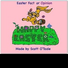 Easter Smartboard Fact or Opinion Language Arts Lesson