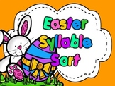 Easter Syllable Sort L.A. Activity