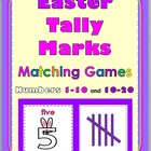 Tally Marks Matching Games - Numbers 1-10 and 10-20 Spring
