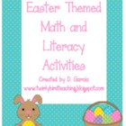 Easter Themed Math and Literacy Activities