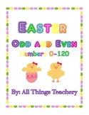 Easter Themed Odd-Even Numbers 0-120