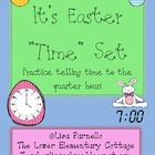 "Easter ""Time"" Analog/Digital Time Matching to Quarter Hour"