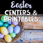 Easter Unit ~ Math and Literacy Centers