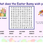 Easter Word Finds SMARTBoard