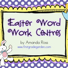 Easter Word Work Centers