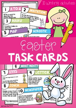 Easter Writing Prompt Cards - Primary School Teaching Resource