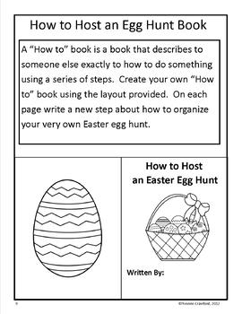 Easter Writing Workshop