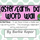 Easter and Earth Day Word Wall