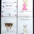 Easter or Spring Egg Hunt Pattern Block Designs Book