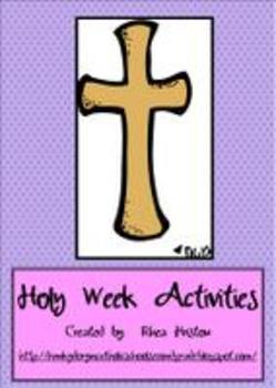 Easter/Holy Week  -  A complete week of activities!
