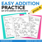 Easy Addition Practice