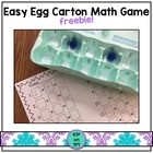 Easy Egg Carton Math Game