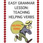Easy Grammar Lesson: Teaching Helping Verbs