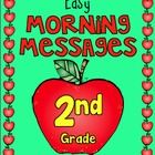 September - Easy Morning Messages - 2nd Grade