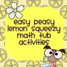 Easy Peasy Lemon Squeezy Activities for Math