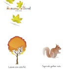 Easy Reader Books: Autumn is Here! - Three Sizes Printable-PDF