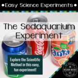 "Easy Science Experiments:  The ""Sodaquarium"" Experiment"